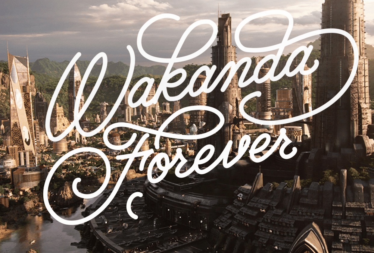 Wakanda Forever - student project