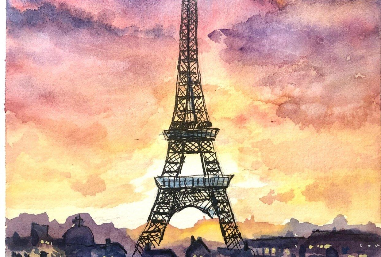 Tour Eiffel - student project