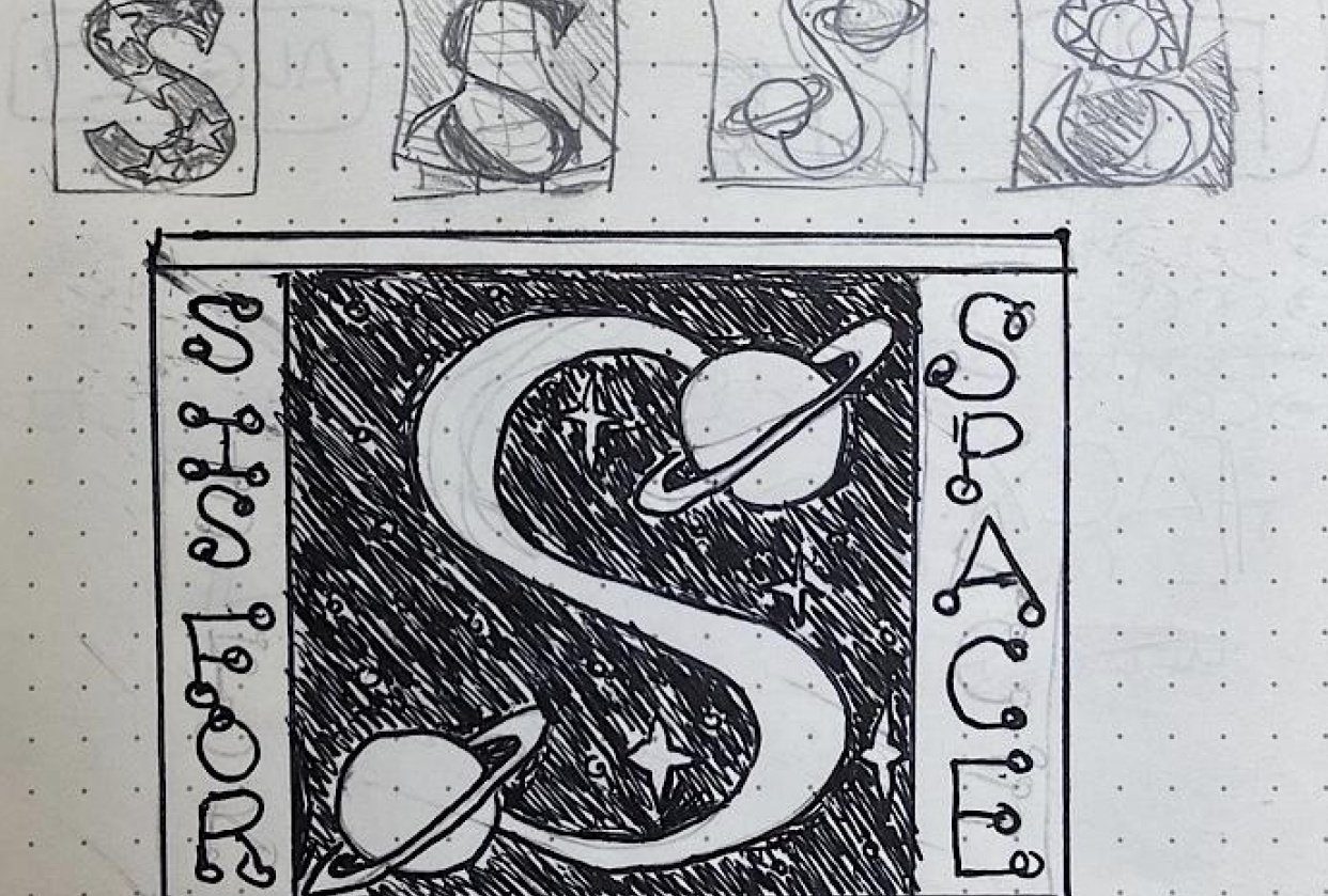 S is for space - student project