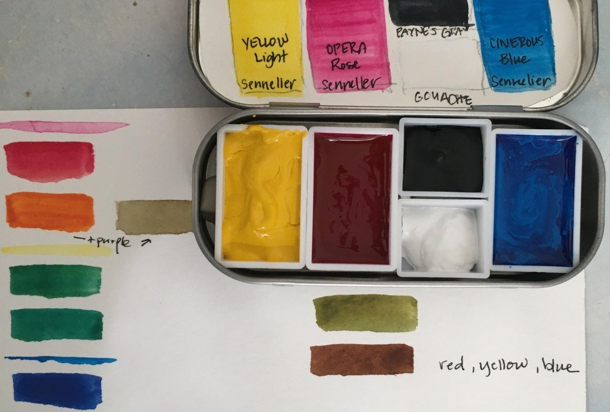 Very Basic Palette - student project