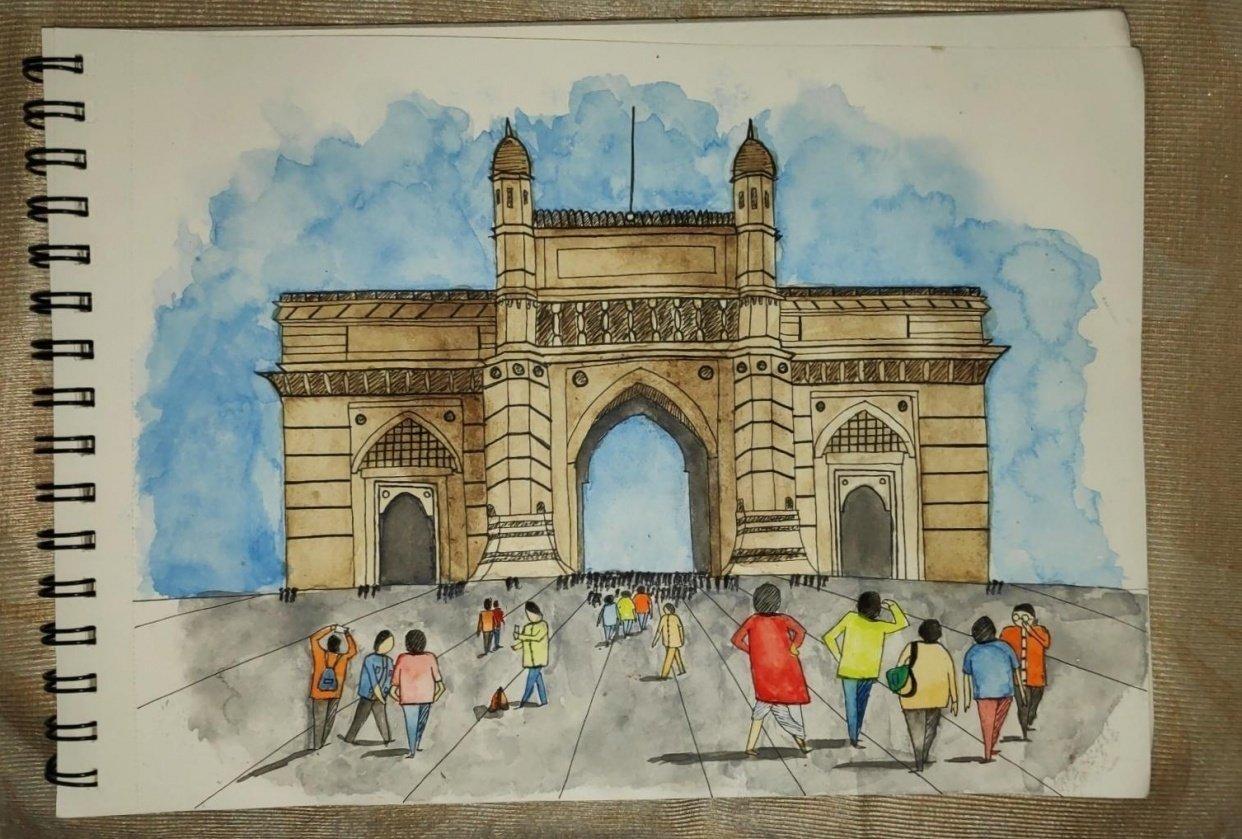 Gateway Of India Mumbai - Diksha More - student project
