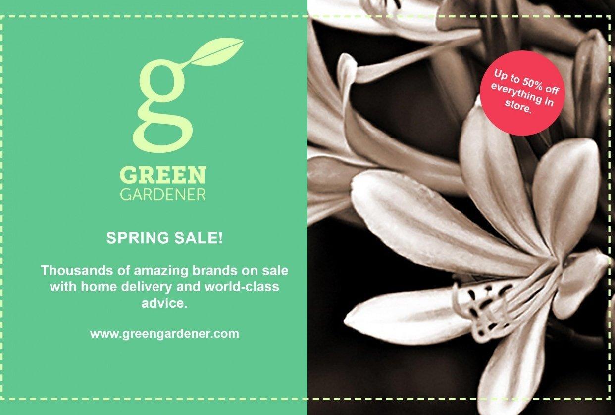 Green Gardener - student project