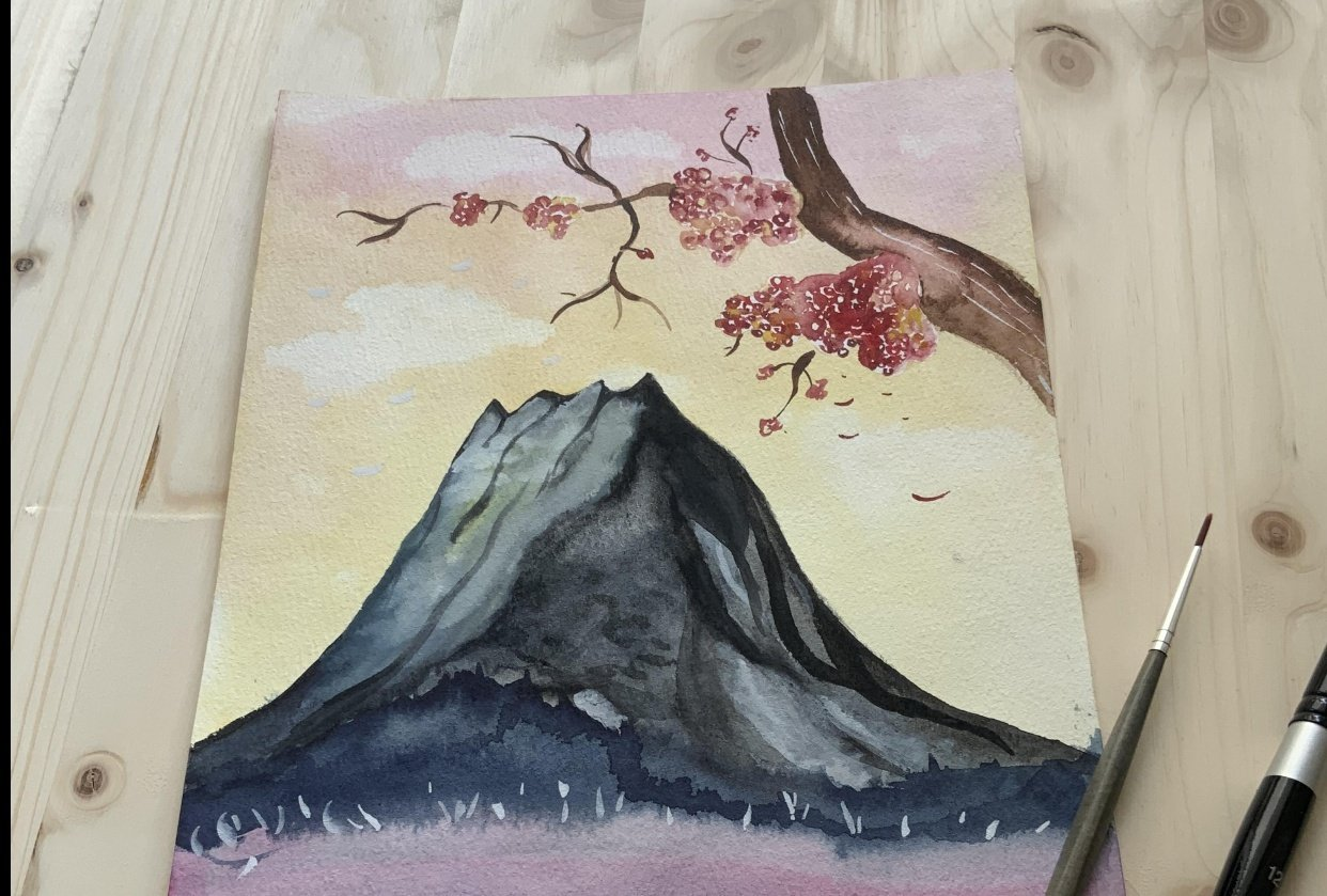 Fun with Watercolors - student project