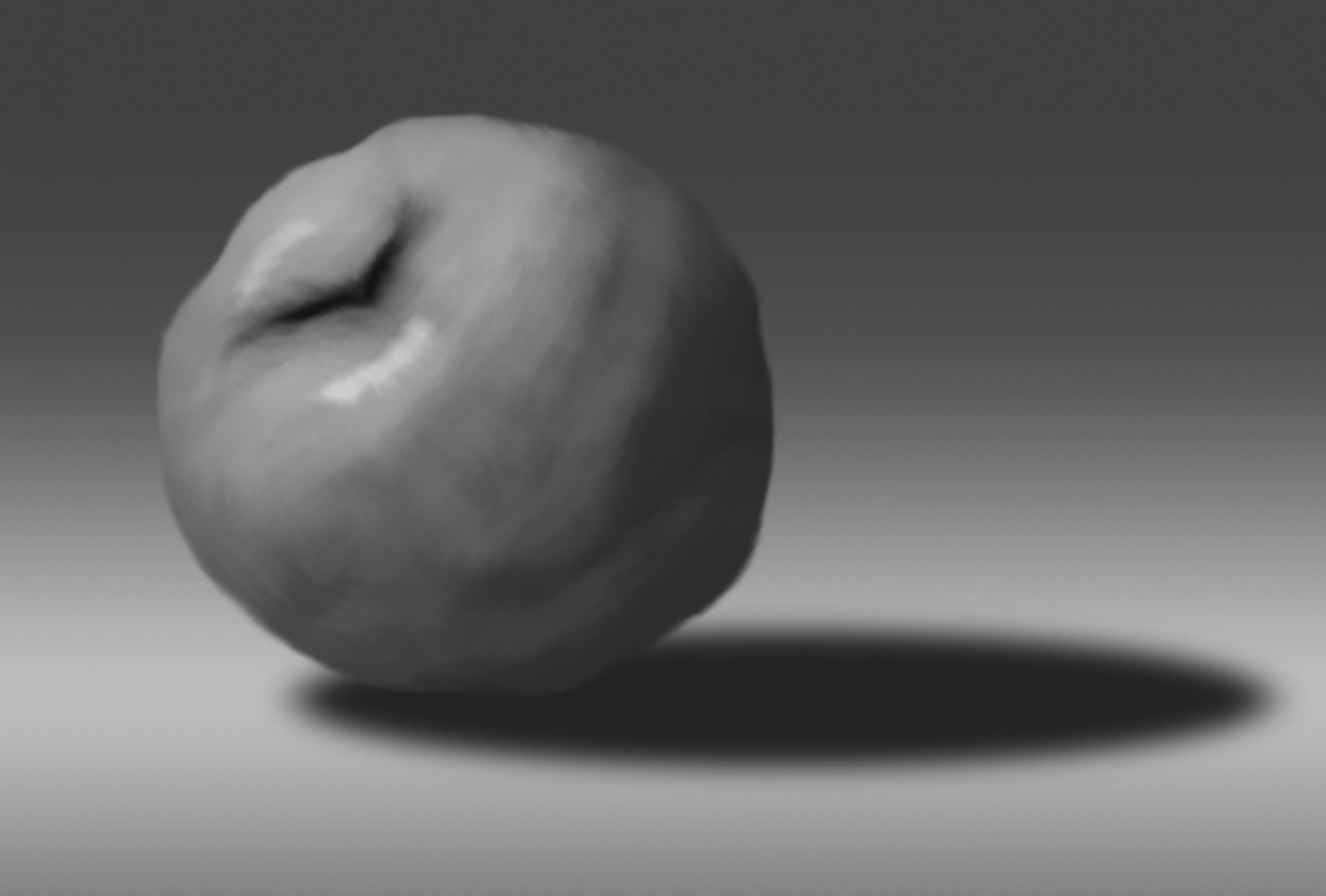 Apple Painting - student project