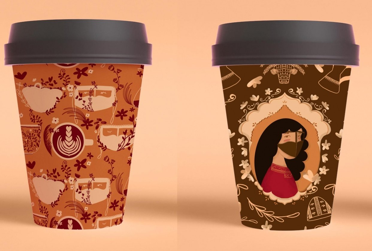 coffee mock up - student project