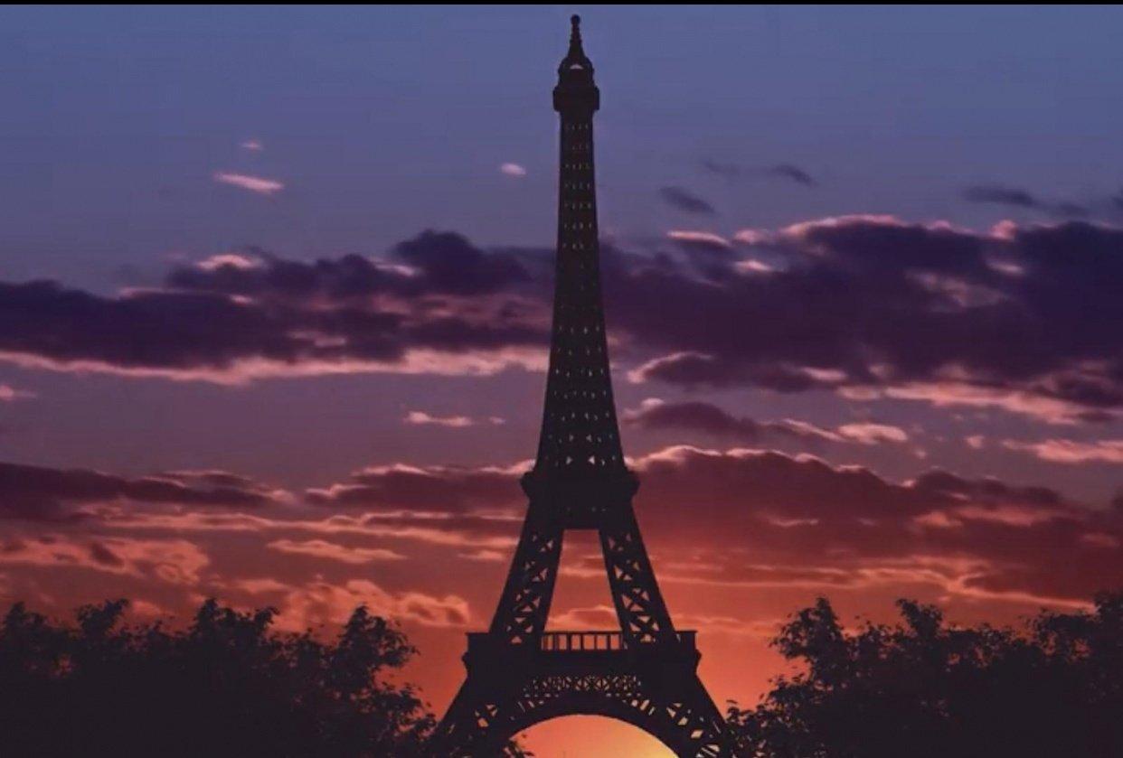 Paris cinematic video - student project