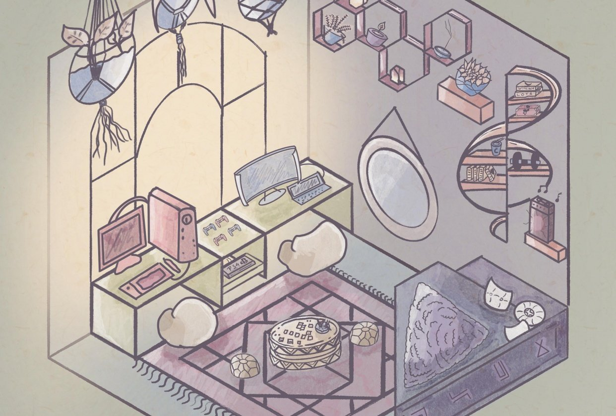 A room for me & her - student project