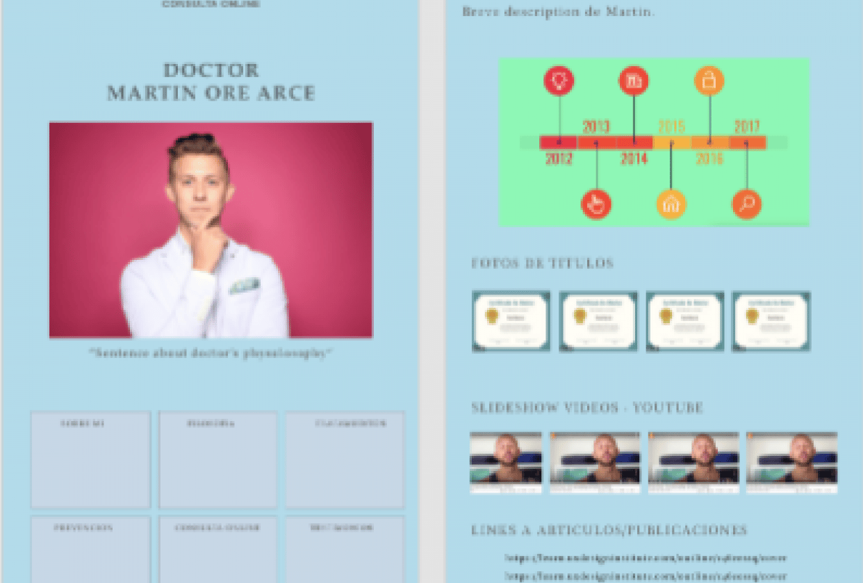 Intro to UX/UI - oncology website (images not working) - student project