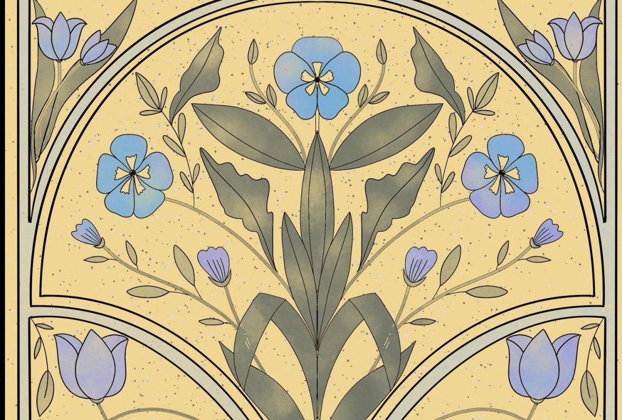 art nouveau learnings - student project