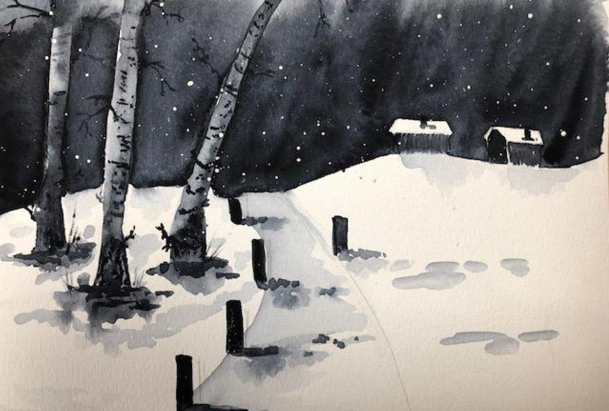 Monochromatic landscapes (complete) - student project