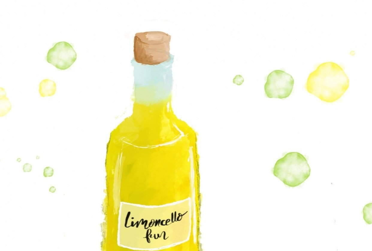 Yummy Limoncello - student project