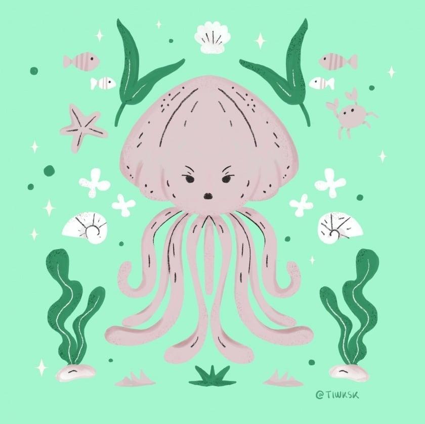 Jellyfish - student project