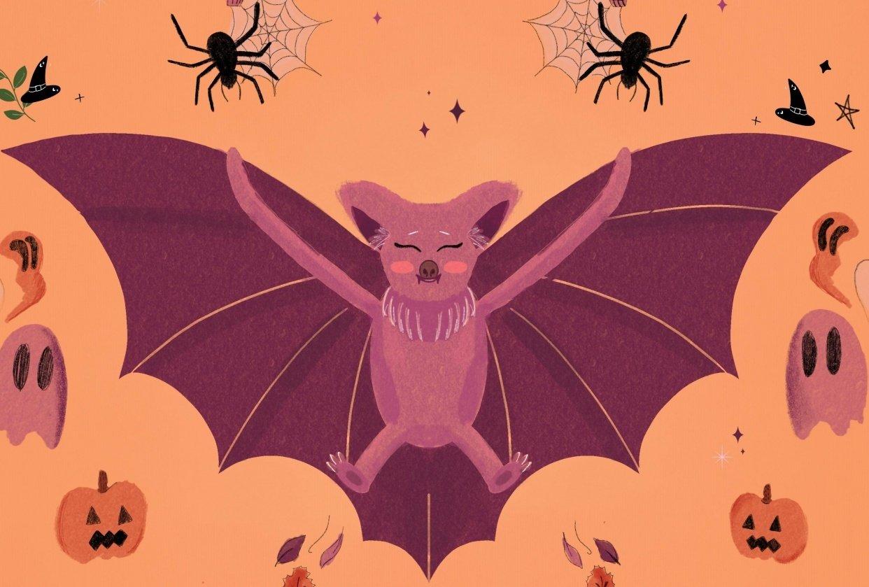 Spooky Bat - student project