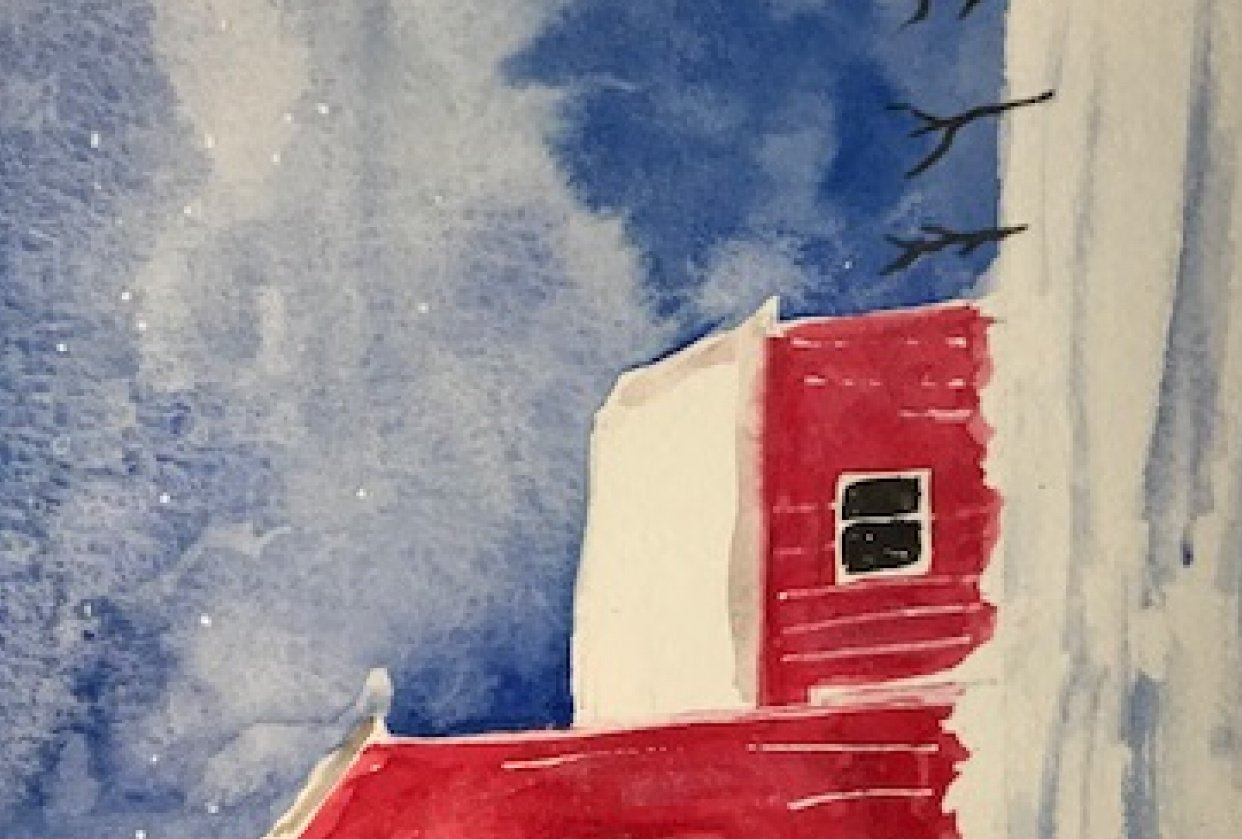 Little red barn - student project