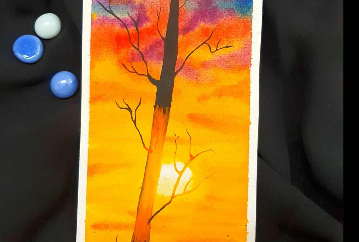 Dreamy Sunset - student project