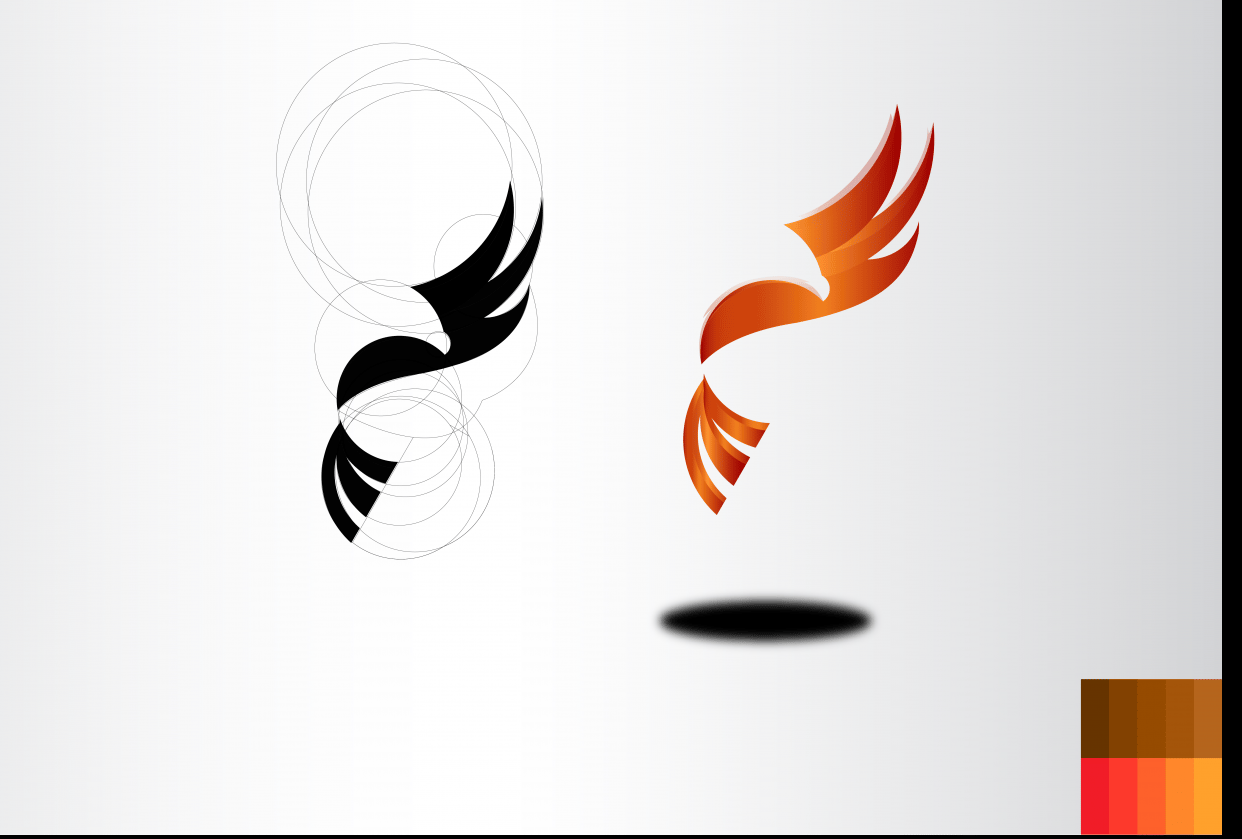 Eagle logo - student project