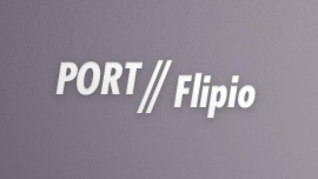 Portflipio / Comic Slideshow App - student project