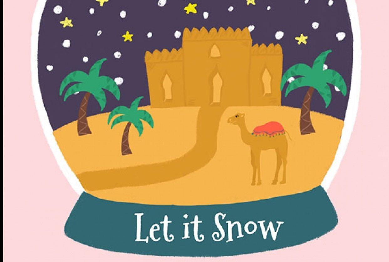 Snow globe animation - student project