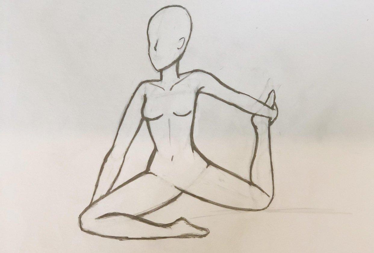 Female torso - student project