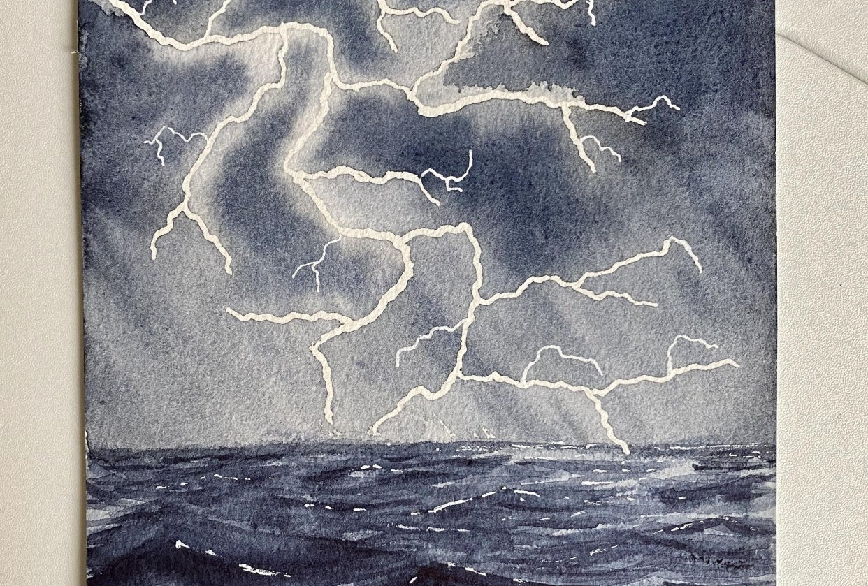Stormy seas - student project