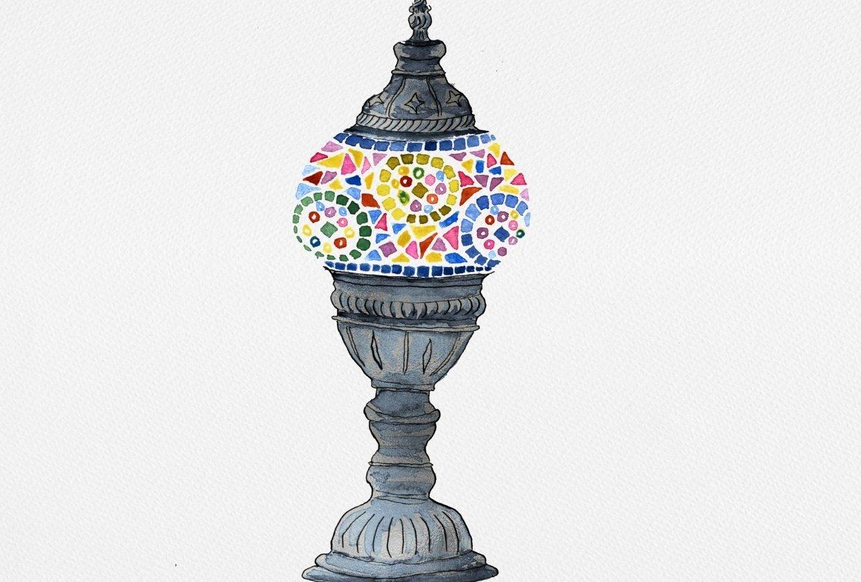 Turkish lamp - student project