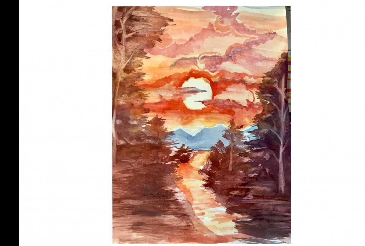 bIANCA'S SUNSET - student project