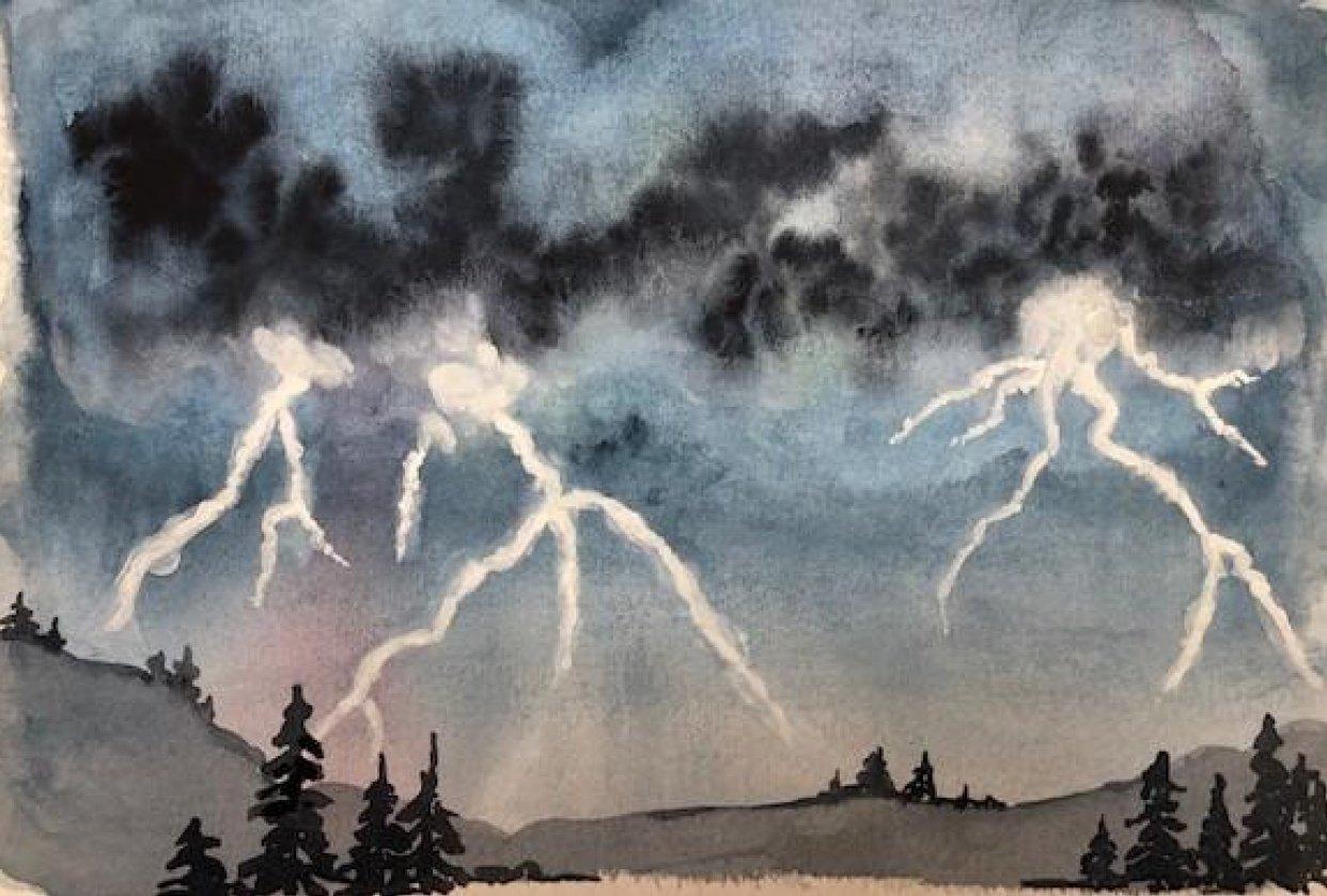 Lightning Storm - student project