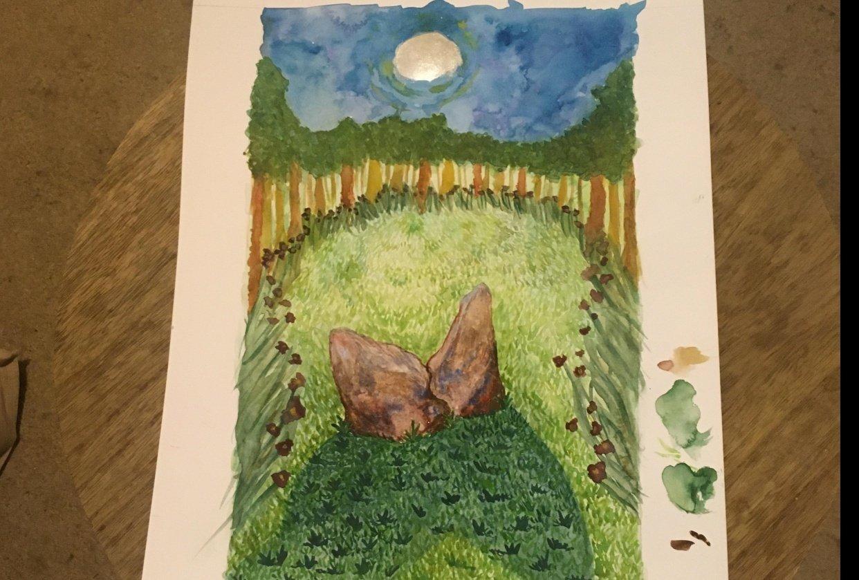 Moonstones - student project