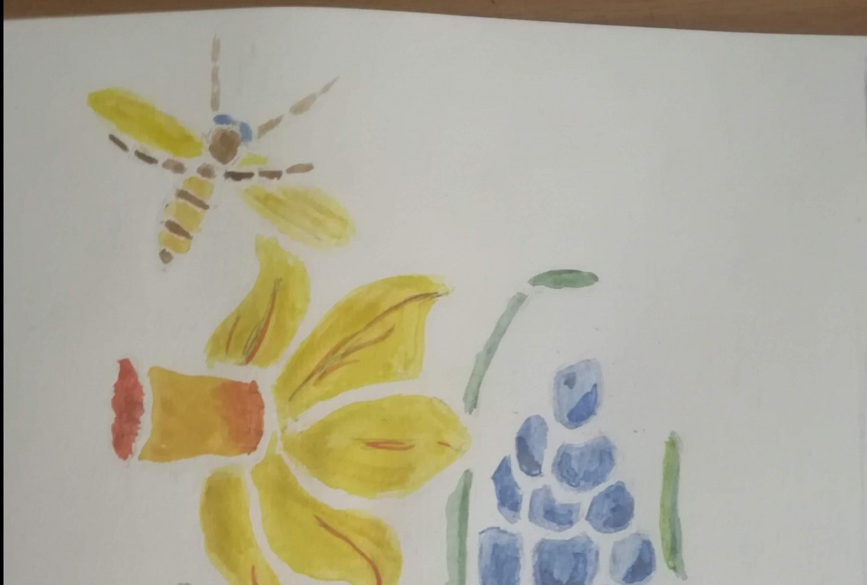 Daffodil and Wasp - student project