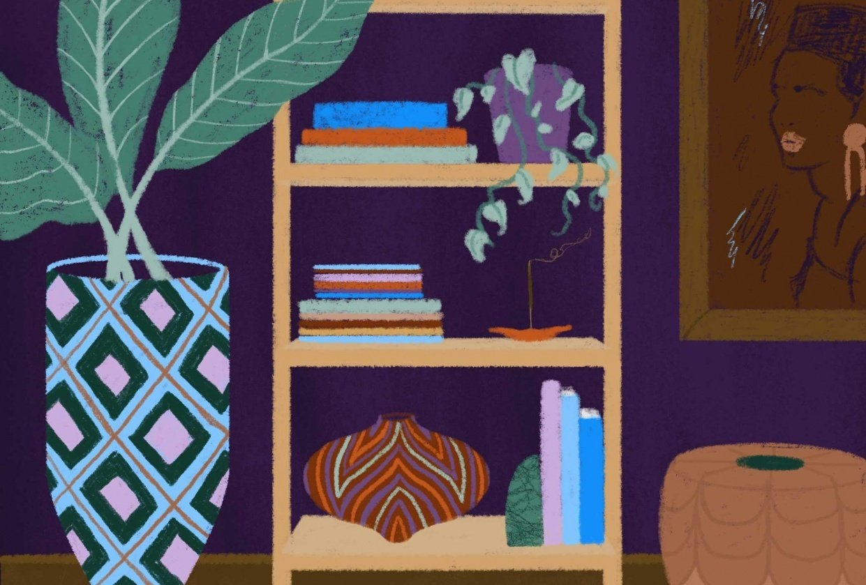 African Inspired Interiors - student project