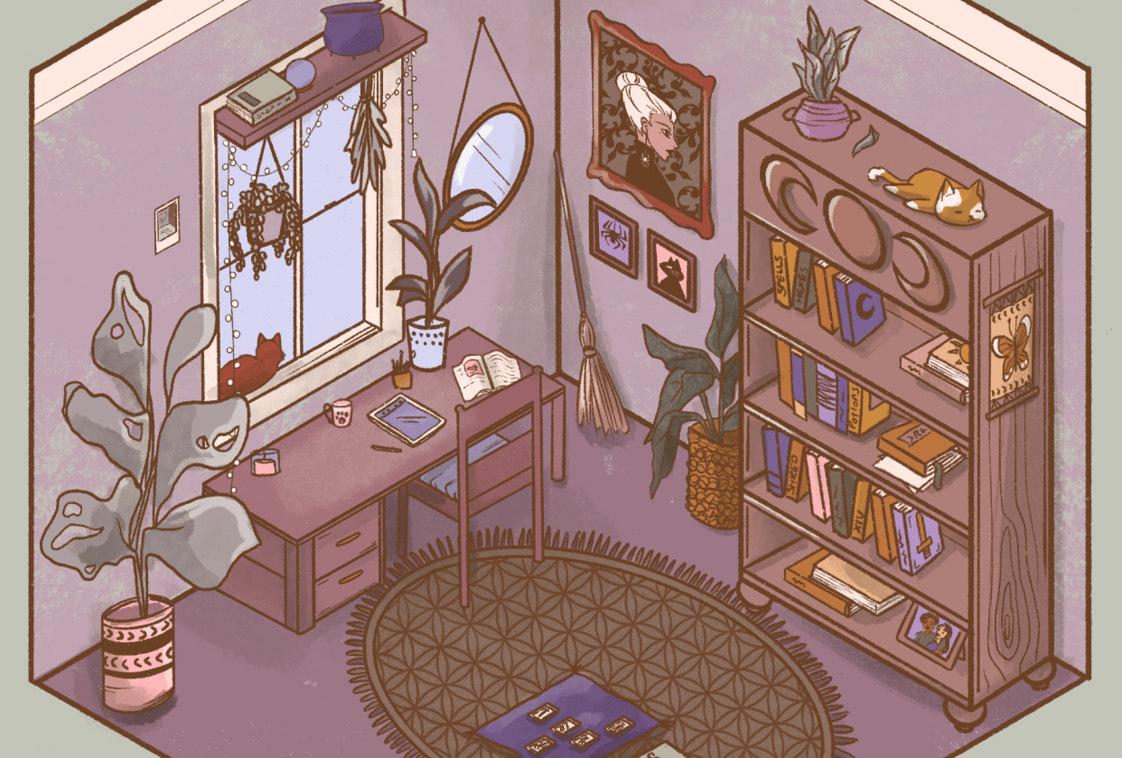 Isometric Room - student project