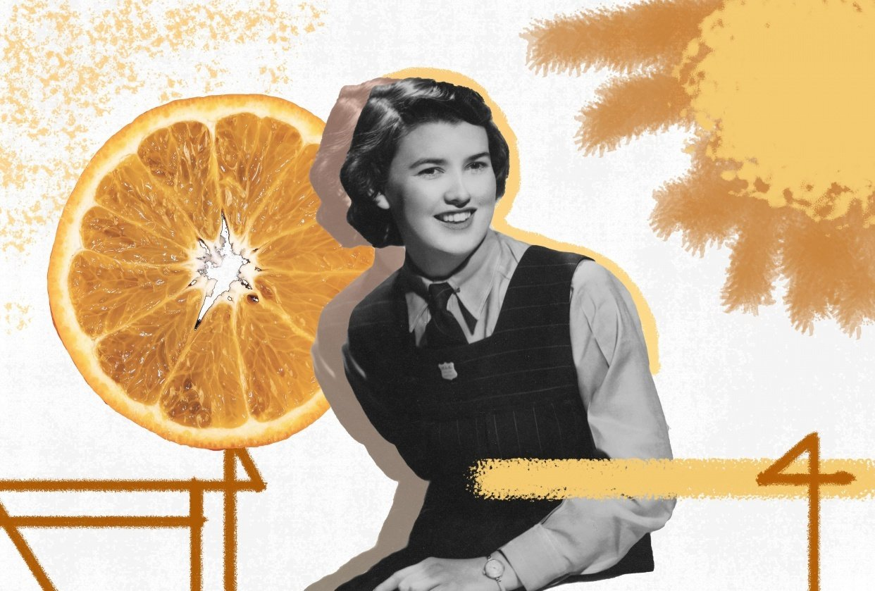 Orange Clock - student project