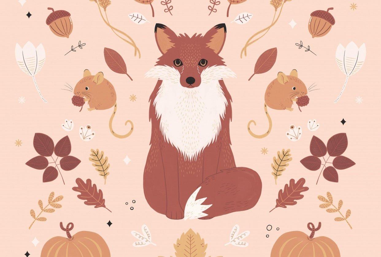 Autumn Woodland Fox - student project