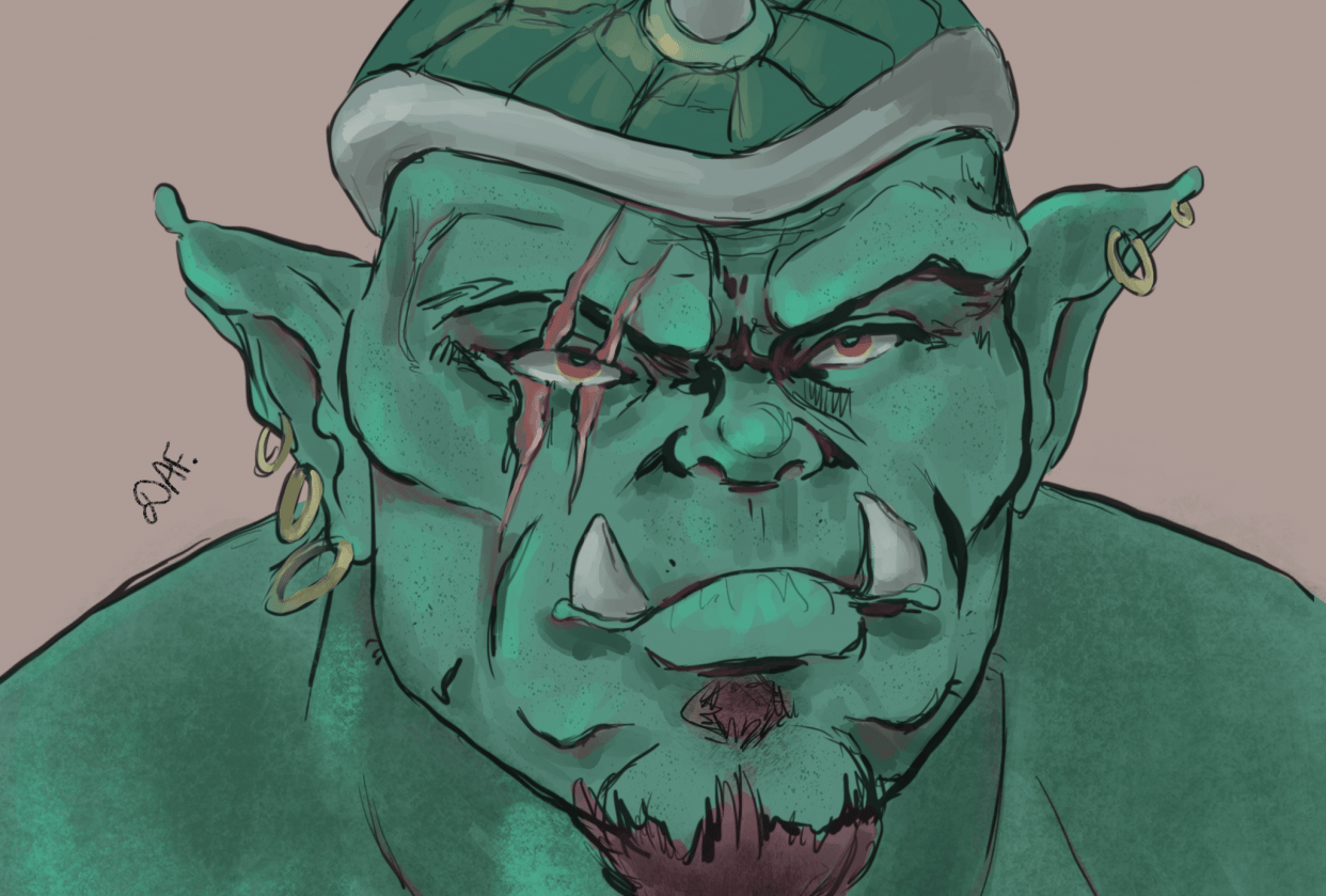 Green ogre and practice - student project