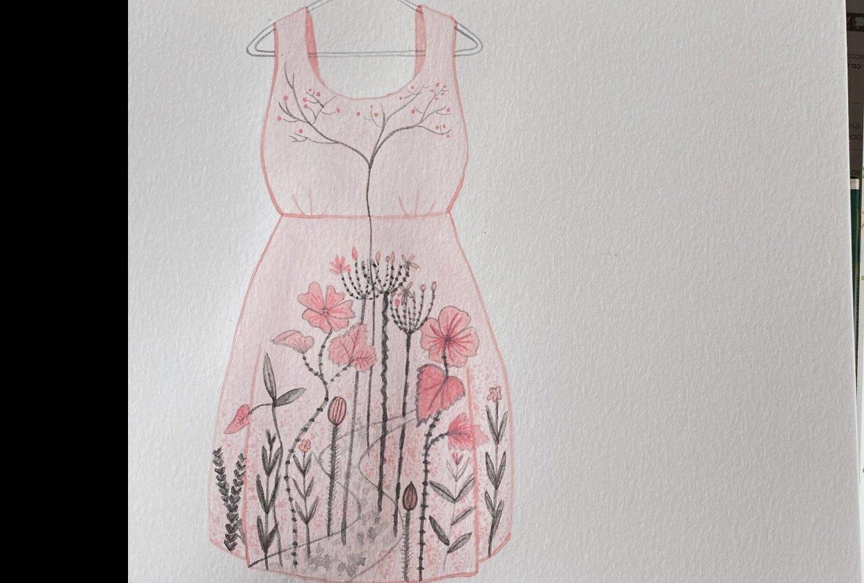 Garden Dress - student project