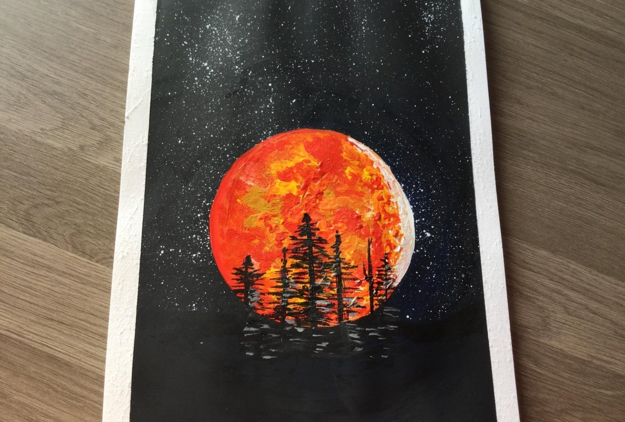 Blood Moon - student project