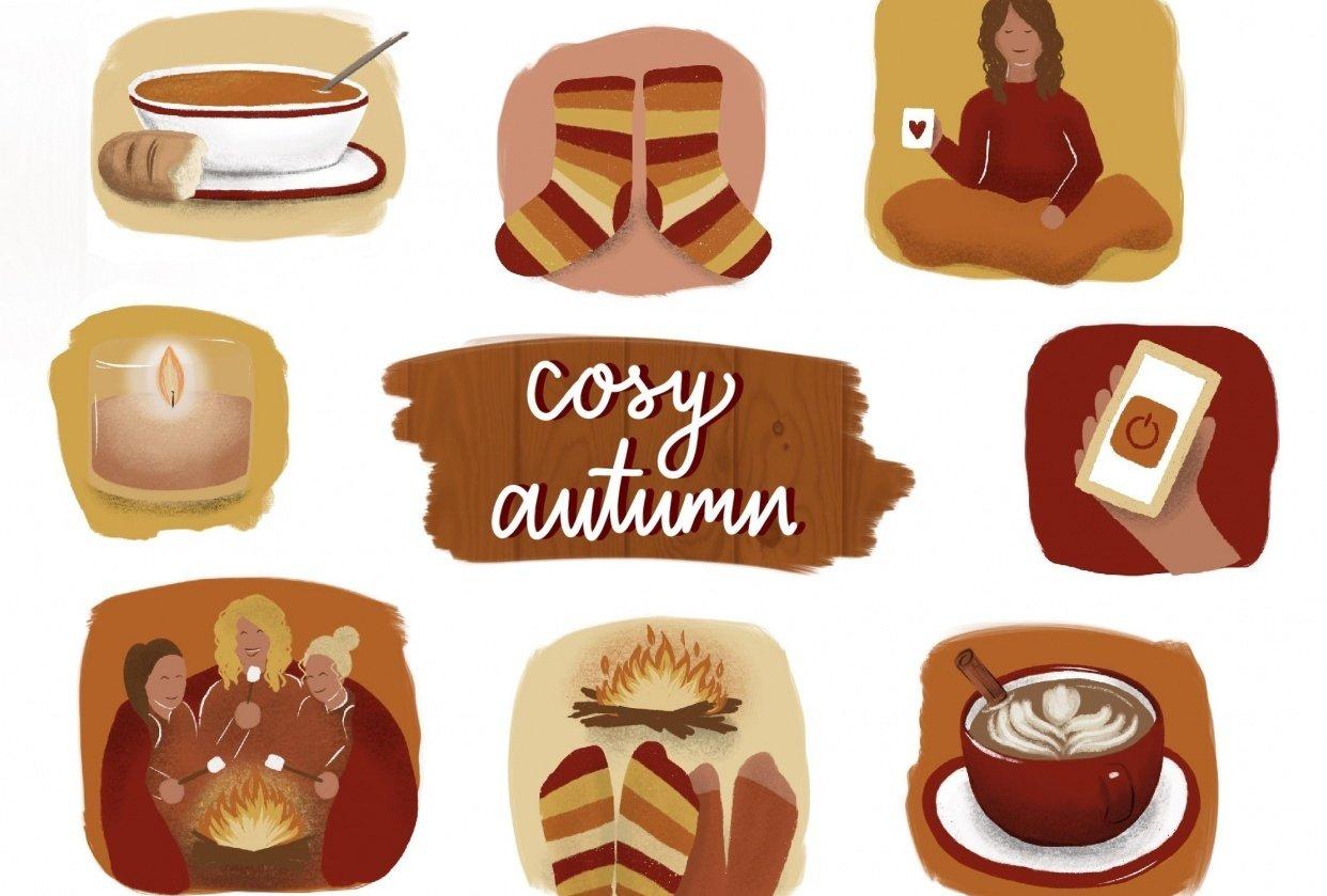 Cozy Autumn - student project