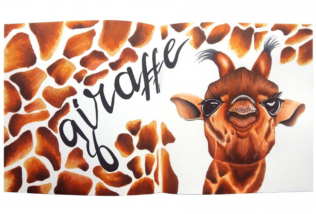 Little Giraffe Dude - student project