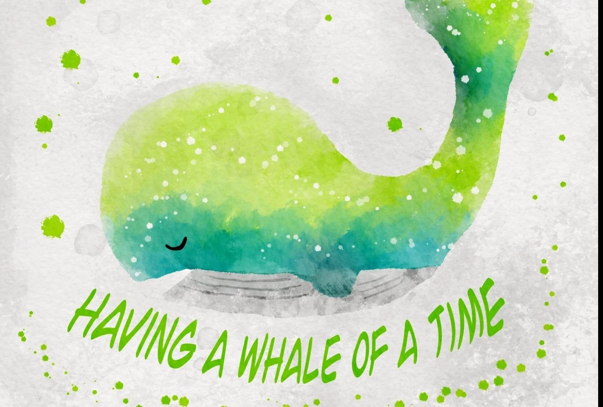 Had a whale of a good time - student project