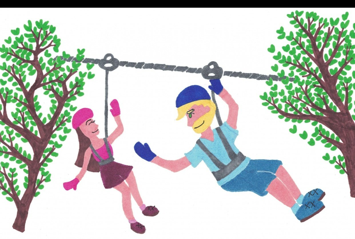 Ziplining and... - student project