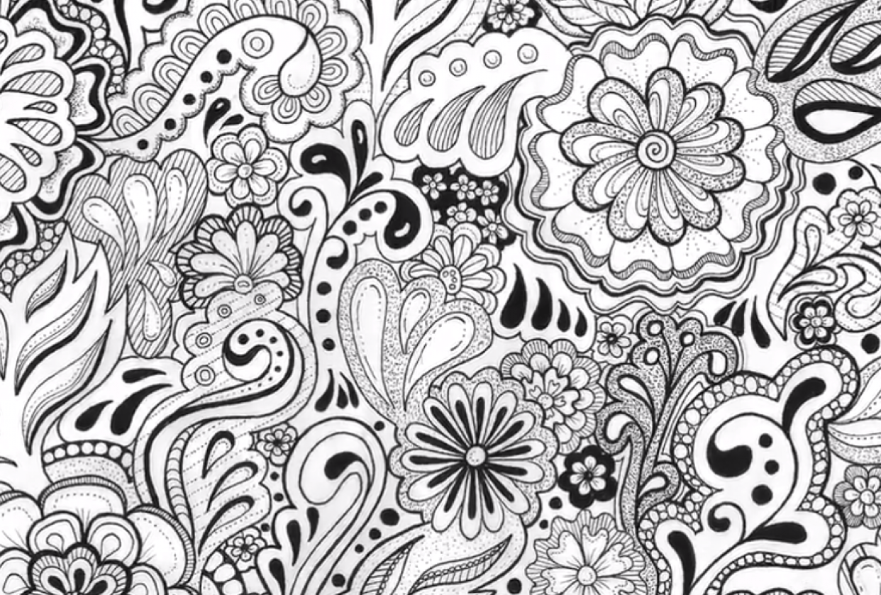 My 7 Day doodle challenge - student project