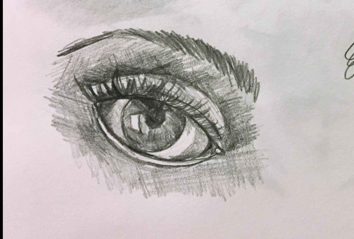 Eyes Hachure - student project