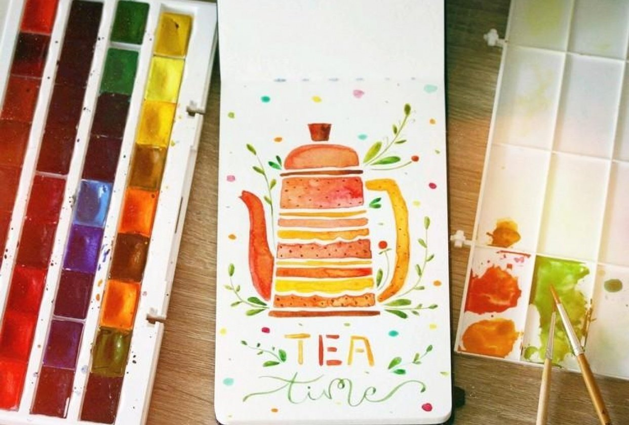 ~ Tea Time ~ - student project