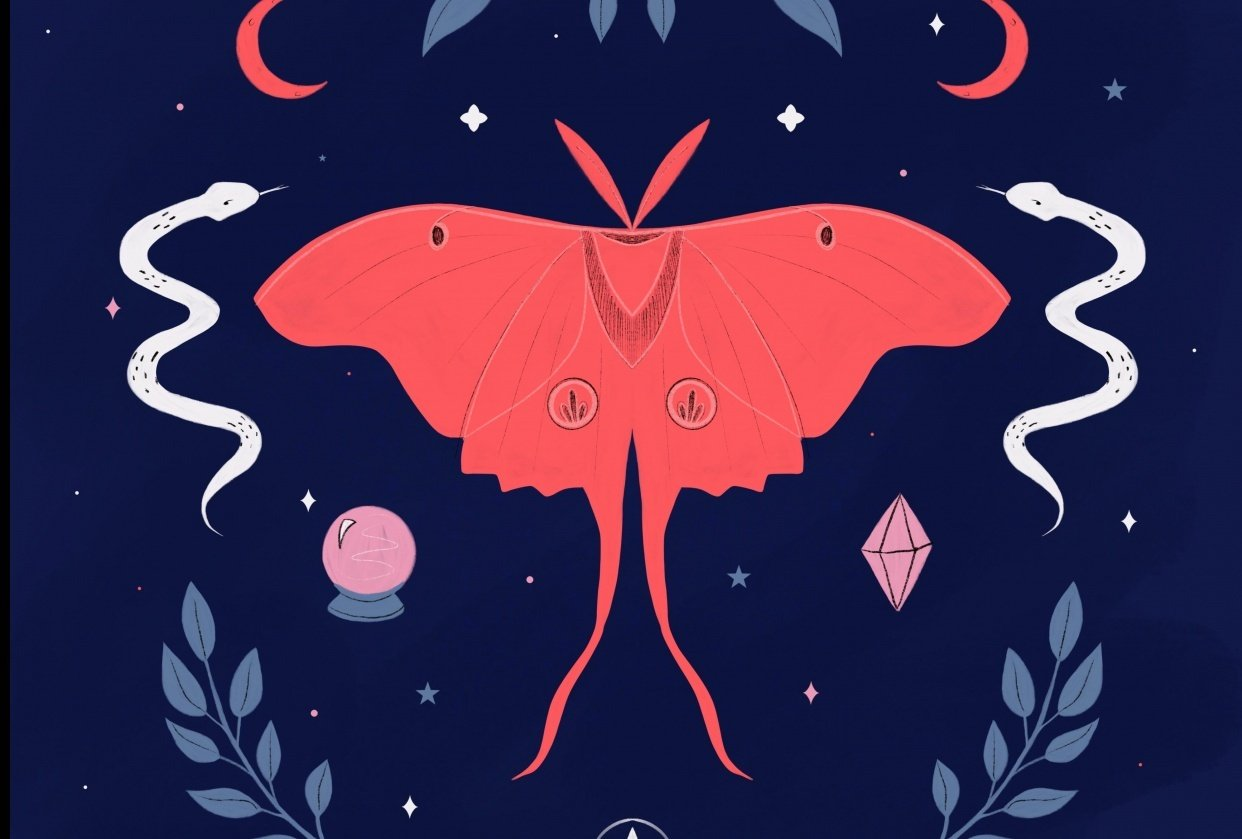 Mystical Moth - student project