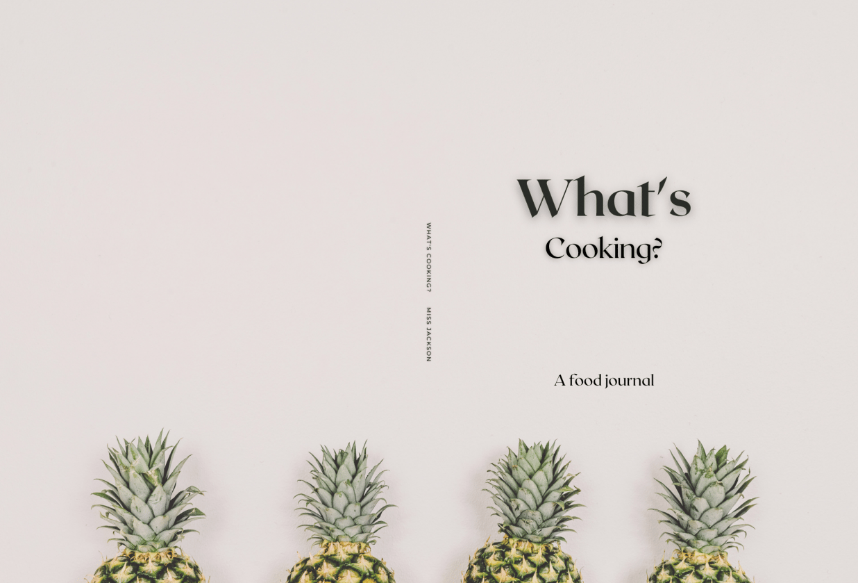 What's cooking?--- A journal - student project
