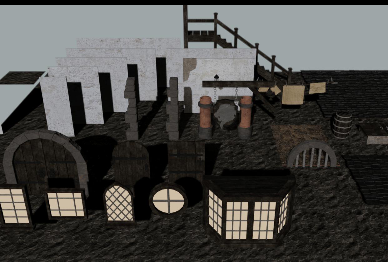 Escena Medieval - student project