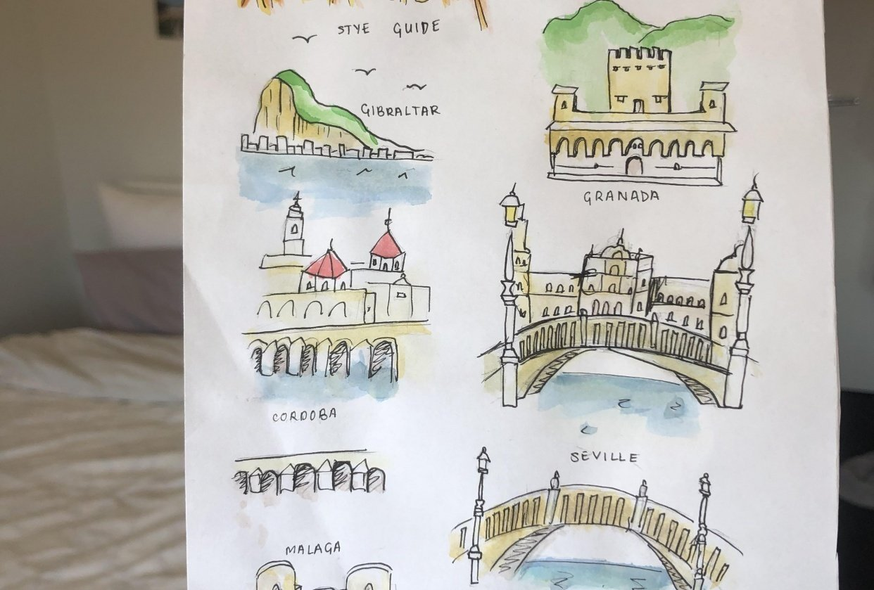 My Andalucia Style guide - student project