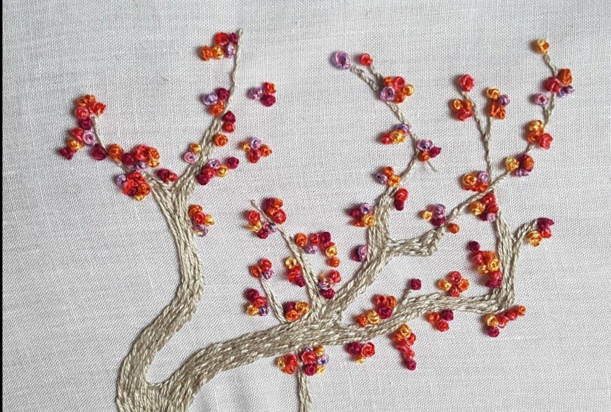 Autumn tree - student project