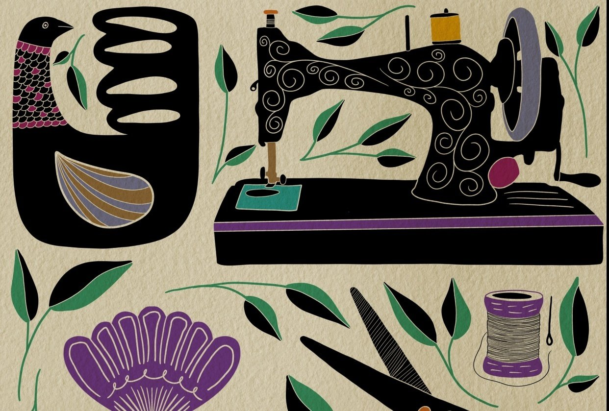 Folk Illustrations - student project