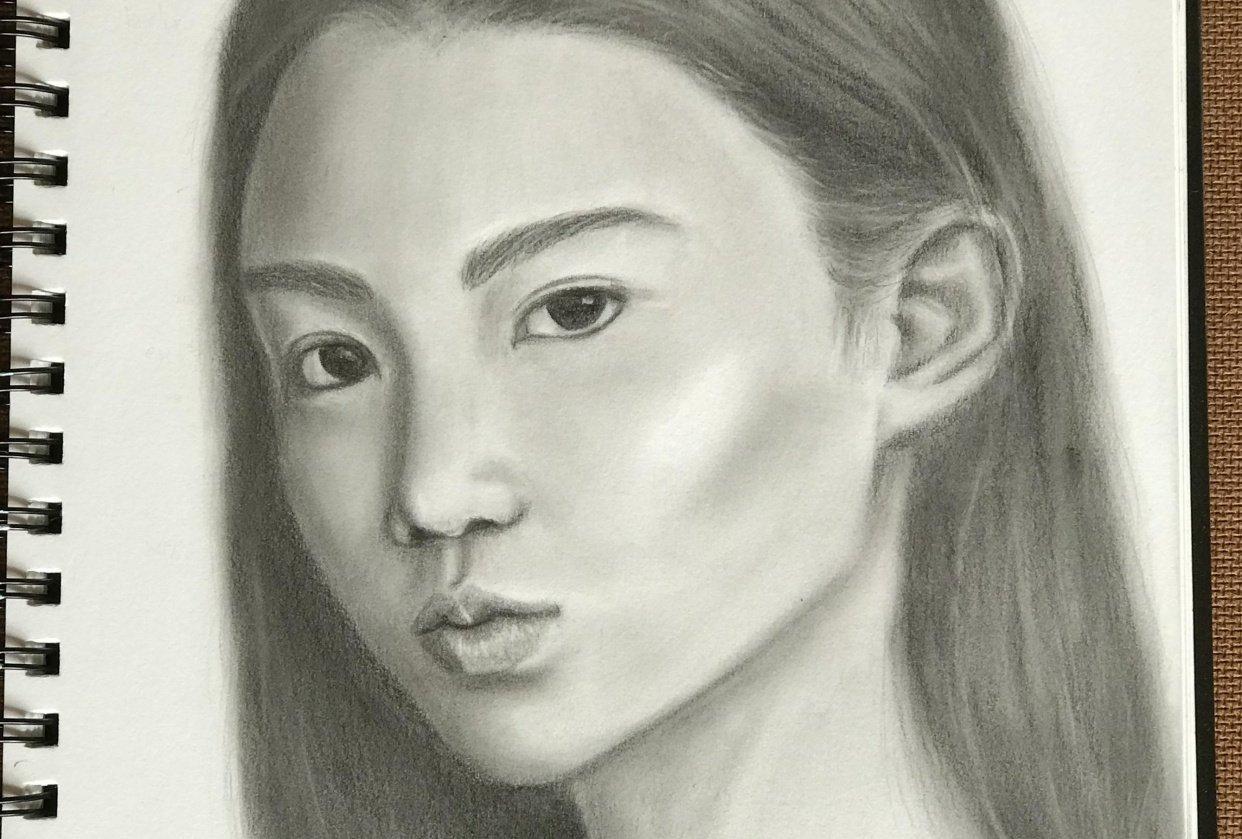 Portrait Study - student project